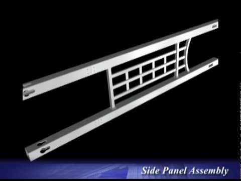 Fairfield Deluxe Flat Top Arbor Pergola Design Assembly Instructional Video