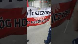 Punkt kontrolny w drodze do Auschwitz