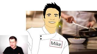 Mike is a Cook (LingQ Mini-Story 1) Vocabulary | Easy English Comprehensible Input for ESL Beginners