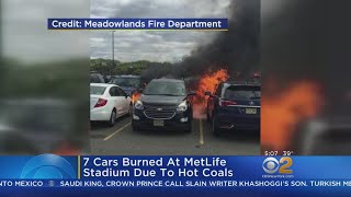 Tailgaters Spark Car Fires At MetLife Stadium