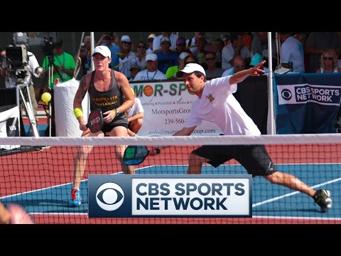2016 PRO Mixed Doubles GOLD Match - Minto US Open Pickleball Championships - CBS Sports Network