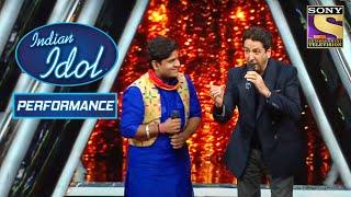 Gurdas Maan ने किया Nitin के साथ 'Challa' पे Perform! | Indian Idol Season 10
