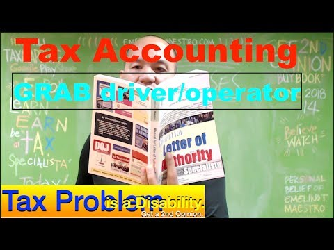 Grab Operator Driver Tax Accounting (TNC) Part 2