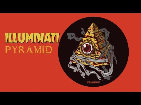 illuminati Pyramid - Illustrator tutorial