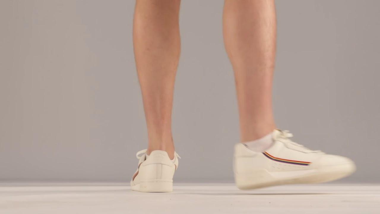 adidas Originals CONTINENTAL 80 PRIDE EF2318 Λευκό | Sneaker CAGE