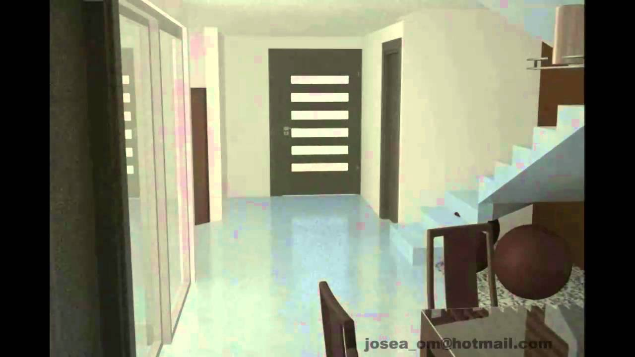 Recorrido virtual casa zona plateada lic b youtube for Casas modernas recorrido virtual