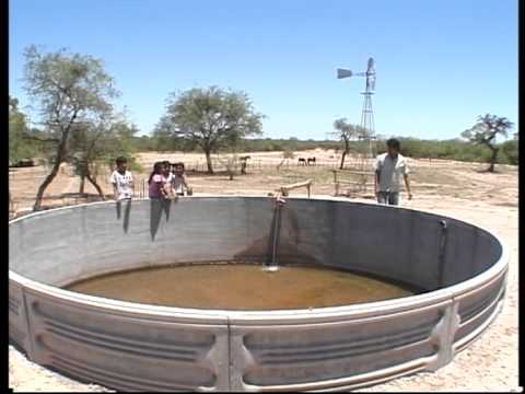 Proinder sistema de agua rural youtube for Tanques para cria de peces