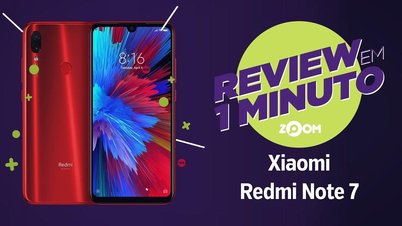 905818e3b Redmi Note 7 vale a pena? Conheça ficha técnica e preço do celular Xiaomi