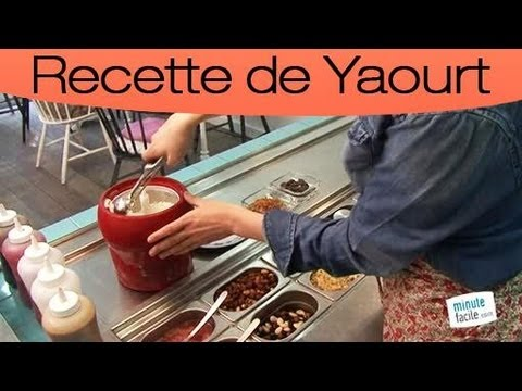 comment faire une glace au yaourt et au chocolat youtube. Black Bedroom Furniture Sets. Home Design Ideas
