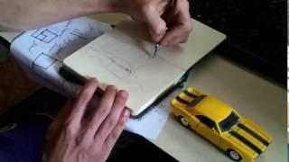 Desenho 3D: Camaro