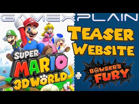 Super Mario 3D World + Bowser's Fury Teaser Site Opened! (Full Website Coming Soon!)