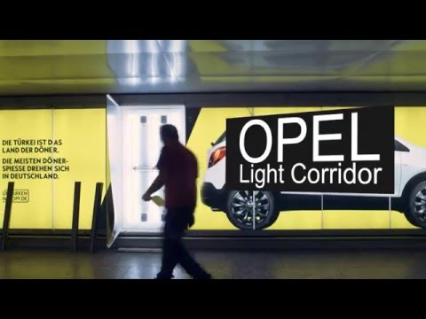 Opel CGI  - Light Corridor Frankfurt Airport - Making Of
