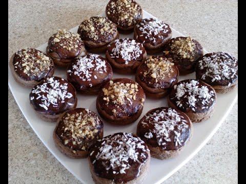 Шоколадное печенье. Вкусное домашнее печенье