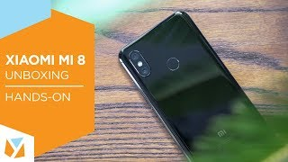 Xiaomi Mi 8 Unboxing, Hands-on