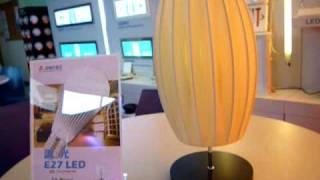 jincos e26 e27 led bulb 9w 500 600lm dimmable