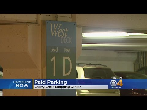 It Will Cost You To Park At Cherry Creek Mall