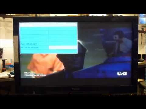 Panasonic Plasma Service Menu Adjustments Setup White Balance Error Codes Usage Display