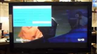 Panasonic Plasma Service Menu Adjustments Setup White Balance Error Codes Usage Display