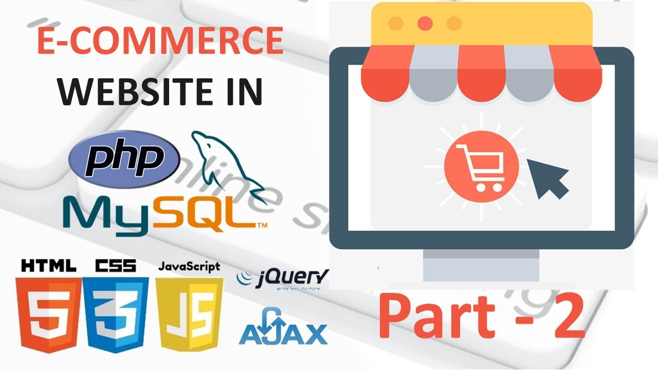 part - 2 Ecommerce in php   Download and install the xampp server