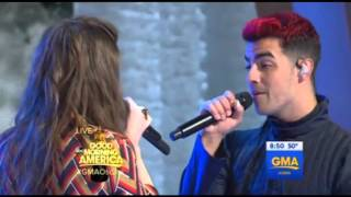 Hailee Steinfeld Ft. DNCE - Rock Bottom - GMA 29/02/16