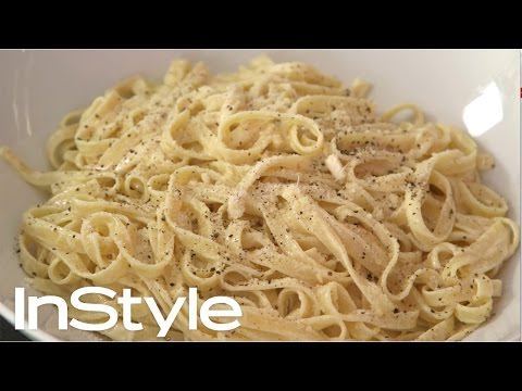 How-to Make No-Fuss Fettuccine with Lemon Sauce | InStyle x Jessica Seinfeld