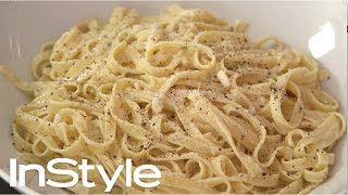 Jessica Seinfeld's No-fuss Fettuccine With Lemon Sauce | Instyle