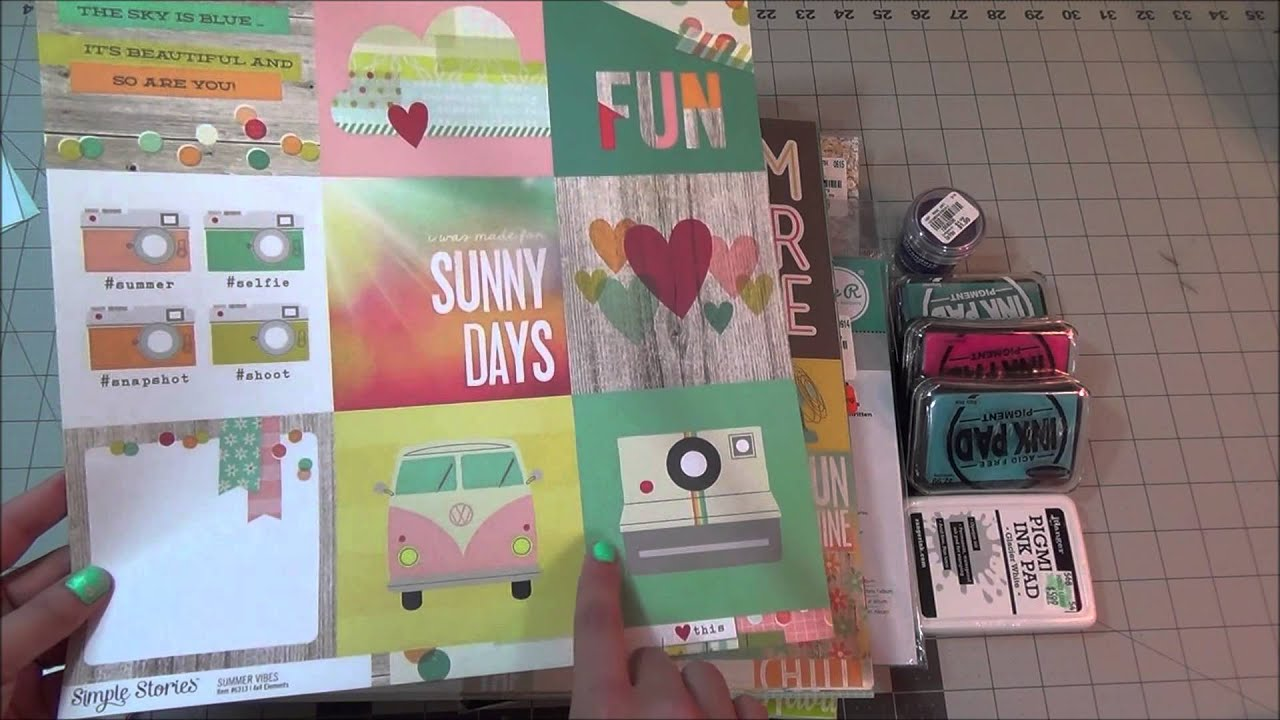 Scrapbook haul tuesday morning walmart for Craft and hobby supplies