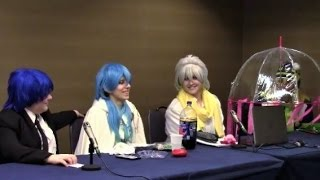 Dramatical Murder After Dark Panel | DMMD After Party Panel (Con Alt Delete 2016)