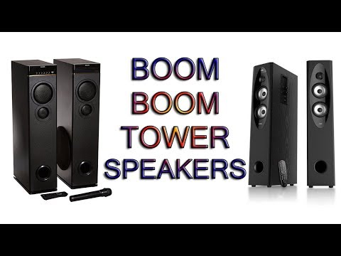 Best tower speakers under 10000 in india - 2018 [Hindi]
