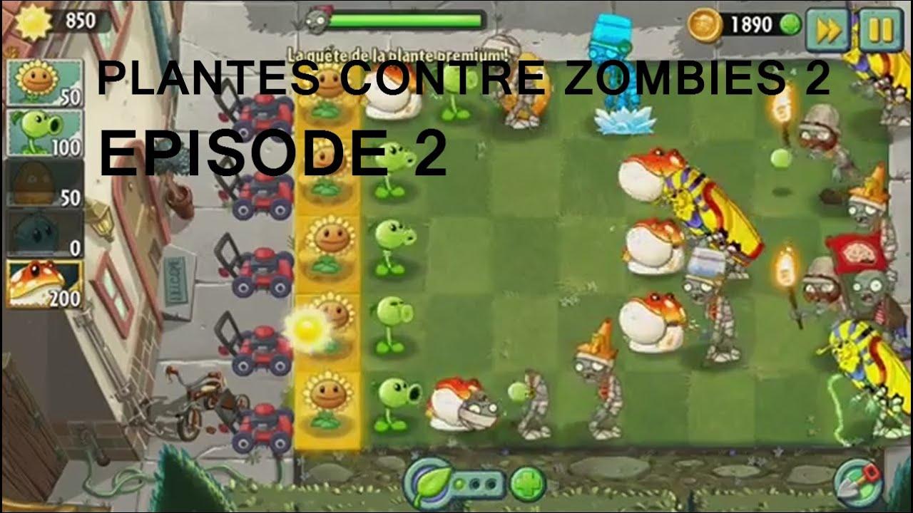 COOL DES BONUS ! : PLANTES CONTRE ZOMBIES 2   EPISODE 2 ...