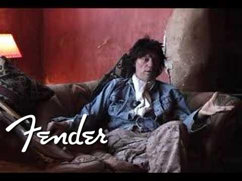Jeff Beck 'Esquire' Fender interview | Fender