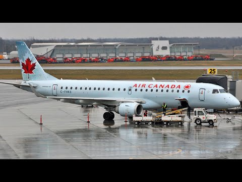 Air Canada Toronto To Saskatoon E190 - Trip Report