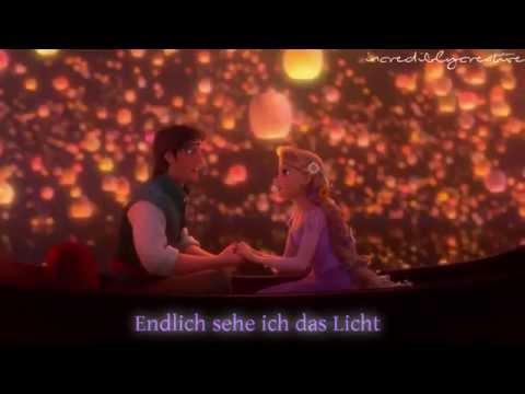 Endlich Sehe Ich Das Licht | Rapunzel | German Lyrics