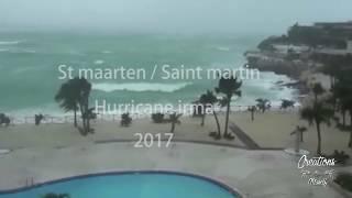 Irma destroys St. Maarten / Saint Martin 2017