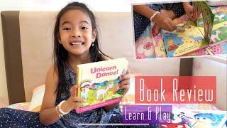 Review Buku Anak Unicorn Dance | Zara Cute belajar Membaca Bahasa Inggris | Anak Belajar dan Bermain