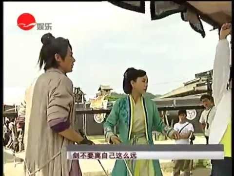 20120531《笑傲江湖》再度翻拍 霍建華假功夫真賣力