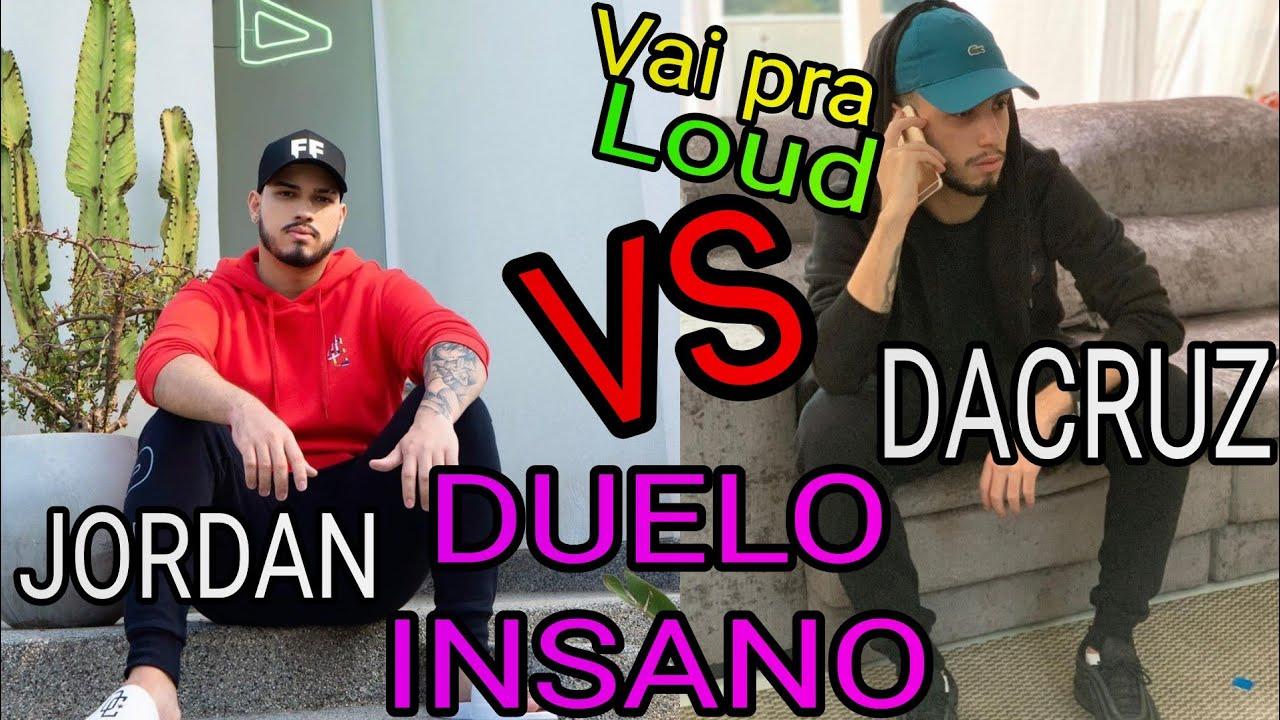 DACRUZ vs LOUD JORDAN CONFRONTO ÉPICO - DUELO INSANO DE PRO-PLAYERS DESUMANOS