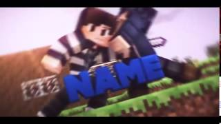 Free Epic Sync Minecraft Intro Template C4D, AE