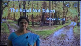 II PUC | ENGLISH | THE ROAD NOT TAKEN - 01
