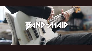 BANDMAID - DICE   Bass Cover ベース弾いてみた
