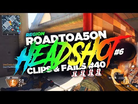 Region | Road To A 5on Headshot #6 | (Clips & Fails #40) | @PzRegion