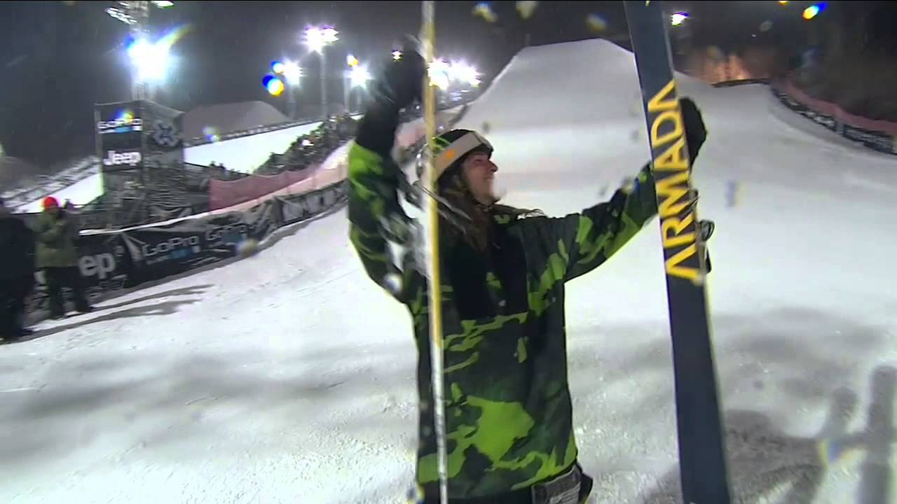 X Games Aspen 2013: Henrik Harlaut talks about winning Men's Ski Big Air