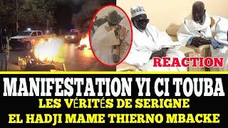 Les vérités de S. El Mame Thierno Mbacké Ganaaw Kadduy S. Mountakha ci Manifestation Yi amoon Touba
