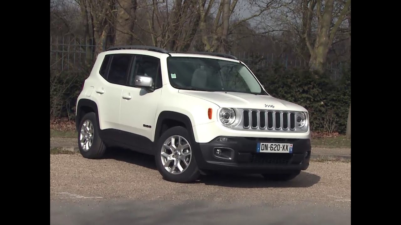 essai jeep renegade 1 4 multiair 140 4x2 limited 2015 youtube. Black Bedroom Furniture Sets. Home Design Ideas