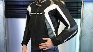 AGV Sport Photon Perforated Leather Jacket | Motorcycle Superstore