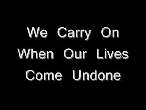 Tim McGraw - We Carry On - Lyrics