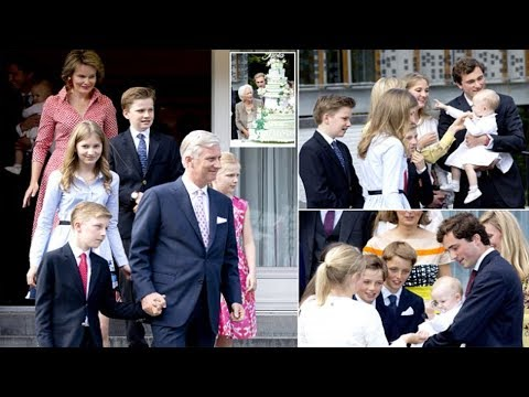 Belgium royal family celebrate Queen Paola's birthday