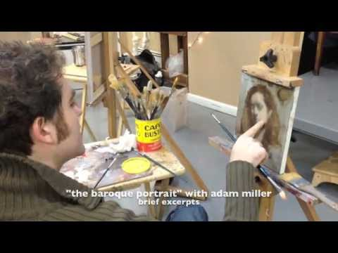 The Teaching Studios of Art- Adam Miller - Excerpts from the Baroque Portrait