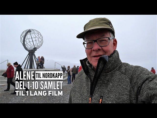 Alene til Nordkapp i en Autocamper - Hele rejsen i en film