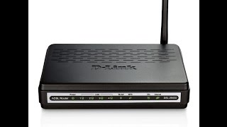 أقوى شرح مفصّل في عمل configuration لمودم D-link et open port et config wifi